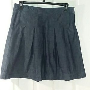 J. Crew chambray skirt in size 10
